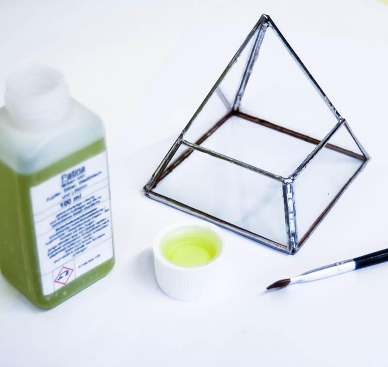 Geometrisches Terrarium selber bauen