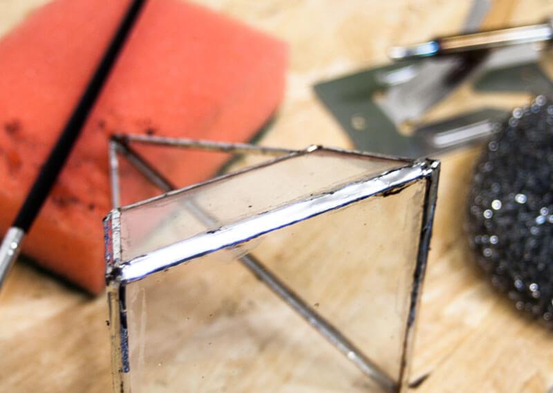 Feinlöten Tiffany Glaskunst
