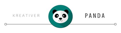 Kreativer Panda