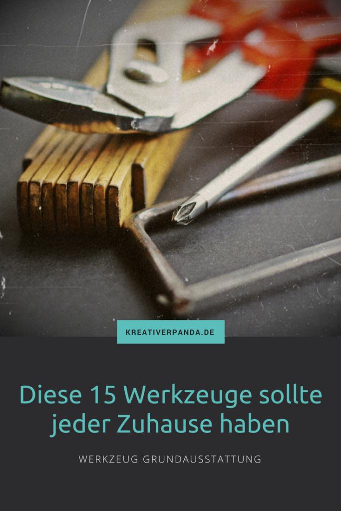 Werkzeug Grundausstattung, DIY, Möbel selber bauen, Heimwerken, DIY Möbel