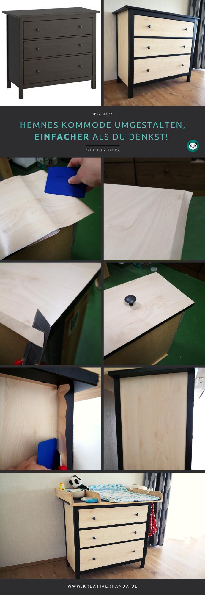 Ikea Hemnes kommode umgestallten, einfacher als du denkst! Günstig und schnell. Ikea Hack, Wickelkommode, kostenlose Anleitung, Schritt -für - Schritt Anleitung